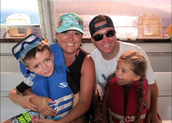 Four Winds II Maui Molokini Snorkel Tour Family Fun On The Boat 3