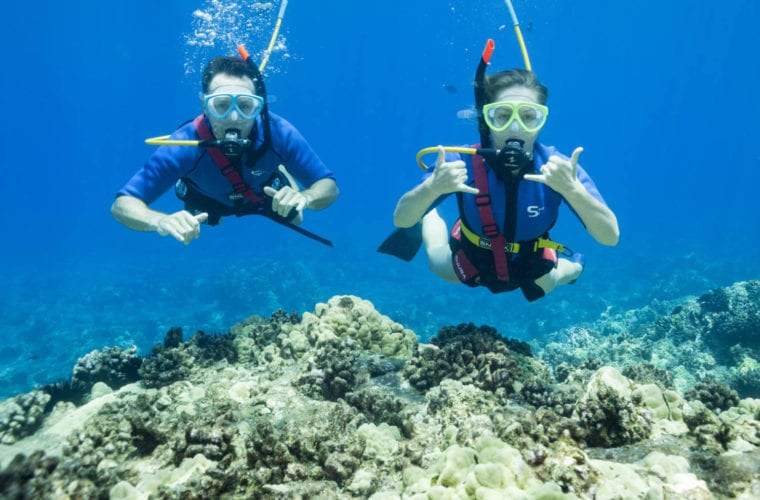 Snuba Maui On Four Winds II