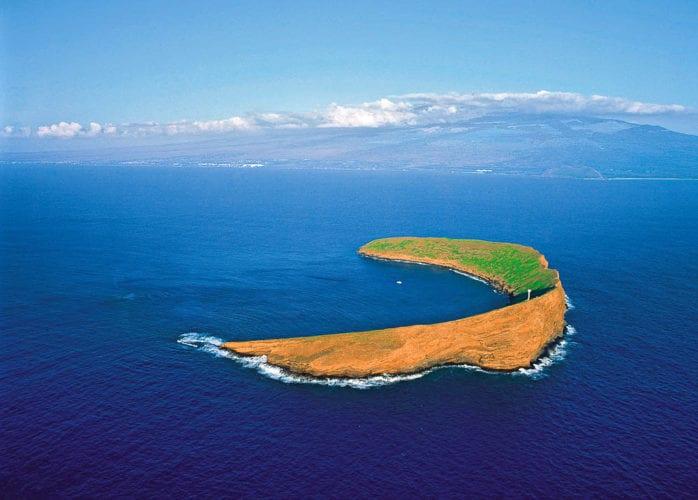 Snorkeling Maui at Molokini Crater