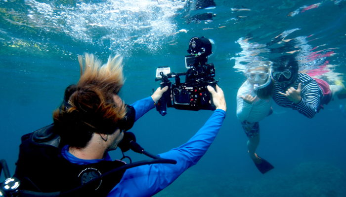Shooting Under The Sea