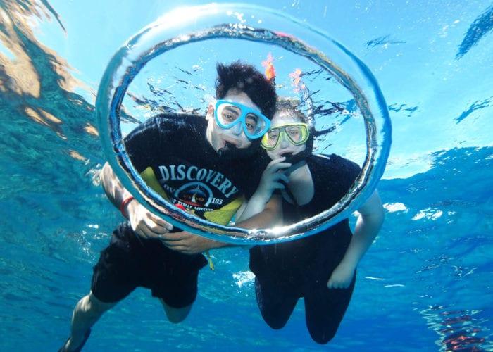 The Couple Snorkel