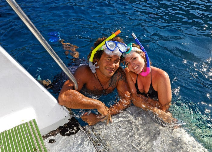 Snorkel Couple 03