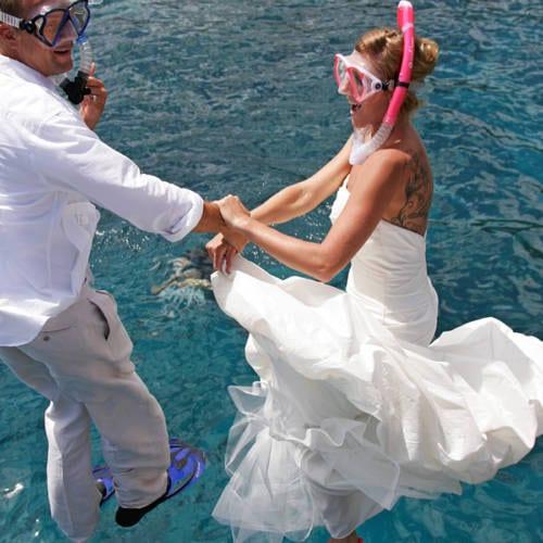 Wedding Couple Polaroid