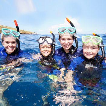 family-snorkel