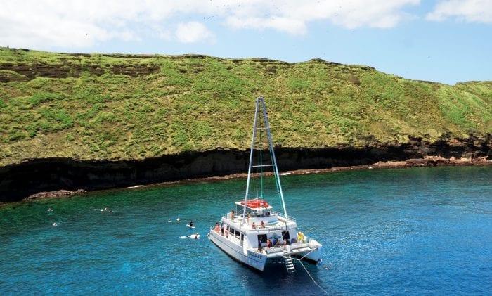 The Boat In The Sea
