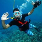 The Man With Snorkel